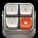 Mechanical panda keyboard by Echo Keyboard Theme