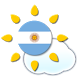 Weather Argentina by Rudy Huang