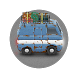 Rusty Bus: Flat tire run - One-tap Survival runner