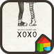 love you xoxo dodol theme by iconnect for Phone themeshop