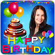 Name Photo on birthday cake: Photo Frames, wishes by AppDreams Media