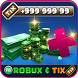 Unlimited Tix and Robux for Roblox Prank by CliperApps