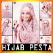 Gambar Tutorial Hijab Pesta Terbaru