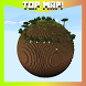 Planet Earth Survival MCPE map by Barium mobile