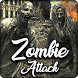 Zombie Attack Keyboard - Zombie World Themes by Clash of Keyboard Themes