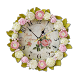 Shabby Chic Clocks Wallpaper by MaxLab