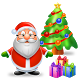 Christmas Cards Tree and Gifts by Hash Apps