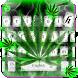 Weed Rasta Smoke Keyboard by Keyboard Theme Artist (Smart Keyboard Theme 2017)