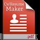 Cv/Resume maker by TopDeveloperZone