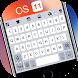 OS 11 Keyboard Theme by Themes Dev Team