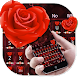 Love Rose Keyboard Theme by Keyboard Design Yimo