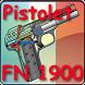 Pistolet FN 1900 expliqué by Gerard Henrotin - HLebooks.com