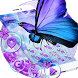 Blue Rose Butterfly Theme