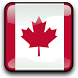 Canada Flag Clock Widget by SCCAL