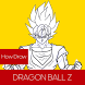 How To Draw Dragon Ball Z DBZ by ZENM17