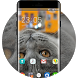 Theme for Motorola EX119 Lovely Cat Wallpaper by Theme Guru