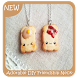 Adorable DIY Friendship Necklaces by Triangulum Studio