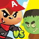 Alvin Vs Zombie's by The great pinguin