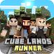 Cubelands Runner: Zombie Escape