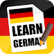 Learn German Grammar Phrasebook by studiox