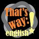That's way: english! by Estúdio Par ou Ímpar