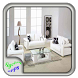 White Leather Living Room Set by Syclonapps