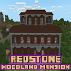 Redstone Woodland Mansion Map for MCPE by MartikModsInc