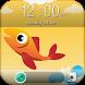 Classic Fish GO Locker by Abstract Designs Locker Themes