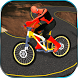 Impossible Superhero Bicycle Ride- Sky tracks race by Entertainment Riders