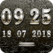TRIAMUN Digital Clock Widget by memscape