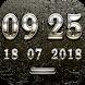 TRIAMUN Digital Clock Widget by memscape