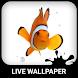 Clown Fish Live Wallpaper by Wave Keyboard Design Studio