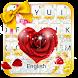 Golden Love diamond keyboard