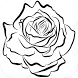 How To Draw a Simple Rose by Cukisan