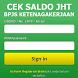 CEK SALDO JHT BPJSTK by First Media Development