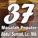 37 Masalah Populer Karya Ustadz Abdul Somad, Lc.MA by BerkahDev Media