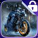 Motorcycle Lock Screen by Wiktor Baldyga