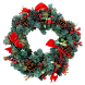 Christmas Wreath Sticker by Orcraphics