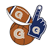 Georgetown Hoyas Selfie Stickers by 2Thumbz, Inc