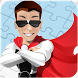 Super hero puzzle game by bluesky@