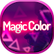 Magic Color SMS Theme by Super Themes