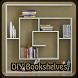 DIY Bookshelves by Heidi Haptonseahl