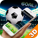 Real Football 3D Theme by Free Android Themes