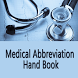 Medical Abbreviation Hand Book by GIF Developer