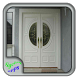 White Wood Door by Syclonapps