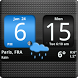FlipClock AhMan BLUE 4x2 by Factory Widgets
