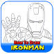 How To Draw Ironman by AnakMoeslim