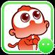 Stickey Fire Monkey by Awesapp Limited