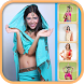 Indian Saree - Make up Face by Gum Mobile Apps