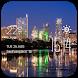 Austin weather widget/clock by Widget Dev Team